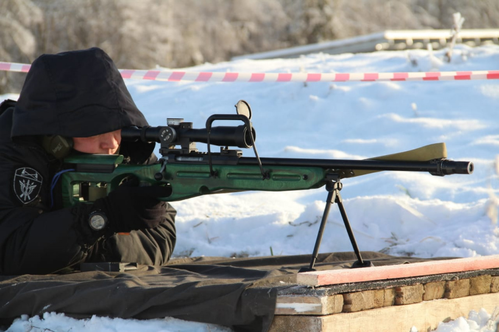 I открытый чемпионат Пермского края по снайпингу среди снайперов силовых структур и стрелков-любителей
